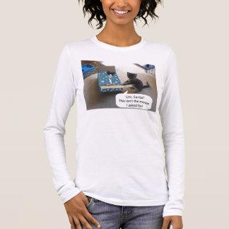 Kitten Christmas Surprise Longsleeve T-shirt