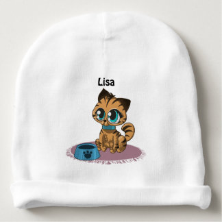 Kitten Cuteness Baby Beanie