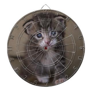 kitten dartboard