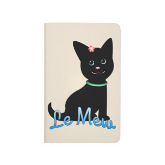 Kitten Graphic Pocket Journal