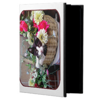 Kitten in a Basket iPad Air Cover