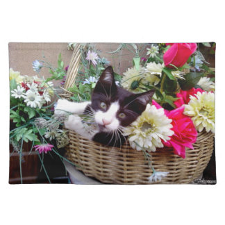 Kitten in a Basket Placemat