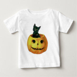 Kitten in a Pumpkin Baby T-Shirt