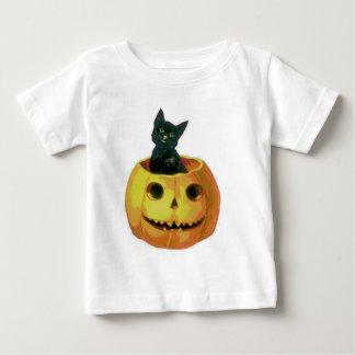 Kitten in a Pumpkin T Shirts