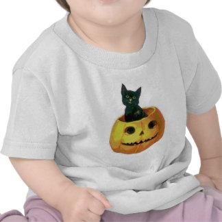 Kitten in a Pumpkin Tees