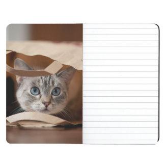 Kitten in Grocery Bag Journal