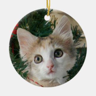Kitten in Stocking Ornament