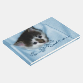 Kitten in the Pocket Guest Book