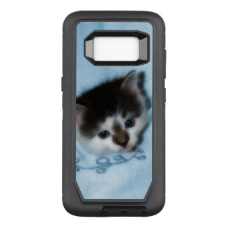 Kitten in the Pocket OtterBox Defender Samsung Galaxy S8 Case