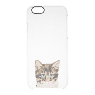 Kitten iphone clear case