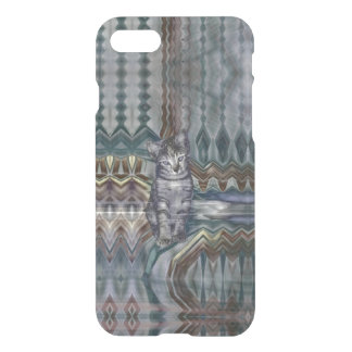 Kitten Matrix 50 Shades of Grey iPhone 7 Case