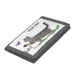 Kitten of colors tri-fold wallet