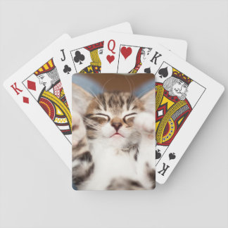 Kitten On My Lap Playing Cards
