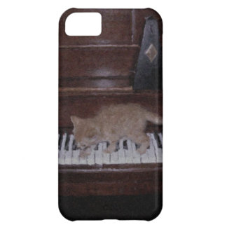 Kitten on the Keys Case For iPhone 5C