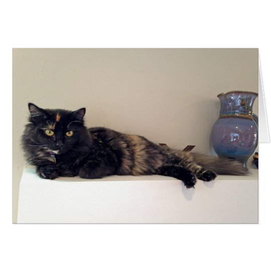 Kitten on the Mantel - Cats - Pets Card