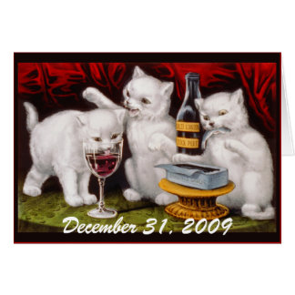 Kitten Party! Before & After - Greeting Card