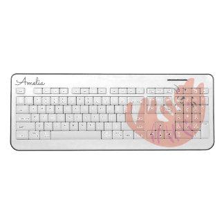 Kitten Party Wireless Keyboard
