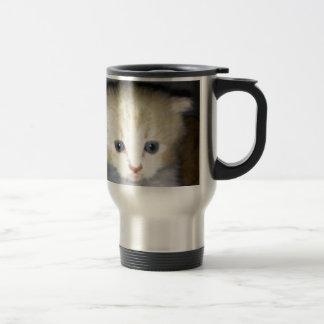 kitten power travel mug