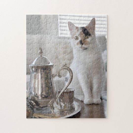 Kitten Tea Party Puzzle