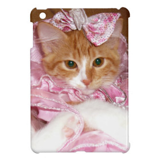 Kitten Wearing Dress iPad Mini Case