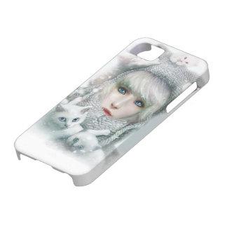 Kitten Winter iPhone 5 Cases