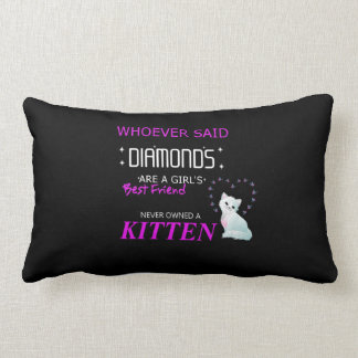 Kittens Are My Best Friend Polyester Pillow