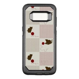 Kittens Backgrounds OtterBox Commuter Samsung Galaxy S8 Case