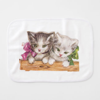 Kittens Burp Cloth