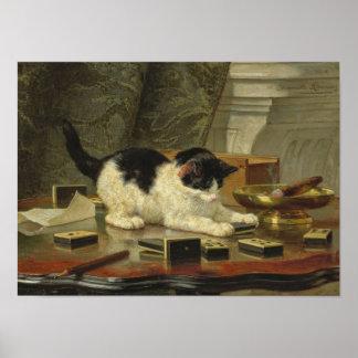 Kitten's Game Poster