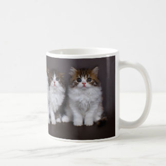 Kittens in a Row Classic Mug