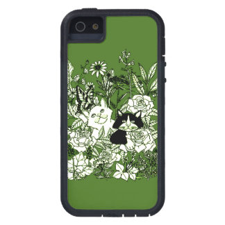 Kittens in the Wildflowers iPhone 5 Covers