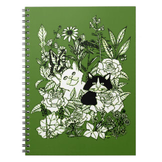 Kittens in the Wildflowers Notebooks