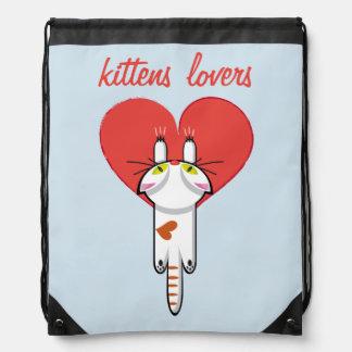 Kittens Lovers Drawstring Bag