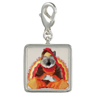 Kittens Thanksgiving Charm