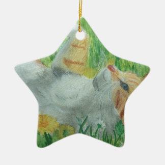kittie_siesta ceramic ornament