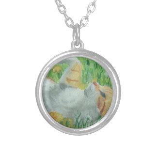 kittie_siesta silver plated necklace