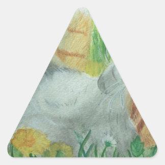 kittie_siesta triangle sticker