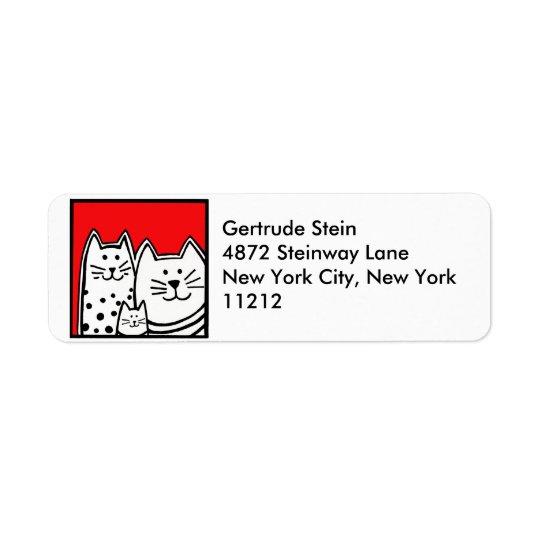Kitties Address Label