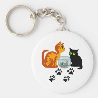 Kitties At Play Keychain