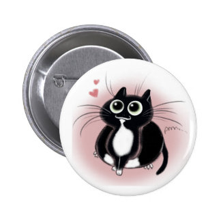 Kitties love you! 2 inch round button
