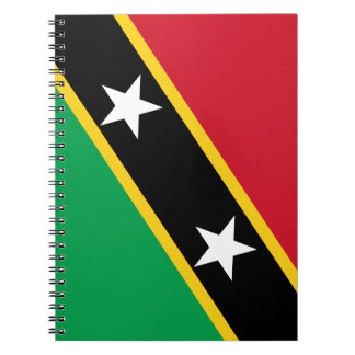 Kitts and Nevis Flag Notebook