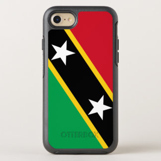 Kitts and Nevis Flag OtterBox Symmetry iPhone 8/7 Case