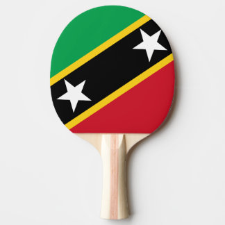 Kitts and Nevis Flag Ping Pong Paddle