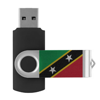 Kitts and Nevis Flag USB Flash Drive