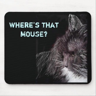 kitty 1, Where's that MOUSE? Mouse Pad