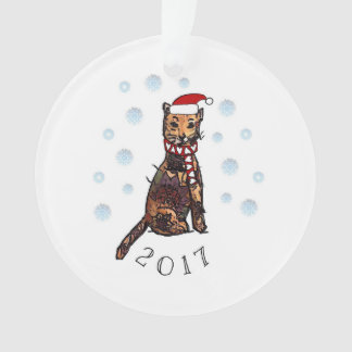 Kitty 2017 ornament