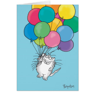 KITTY ALOFT Birthday Greeting Card
