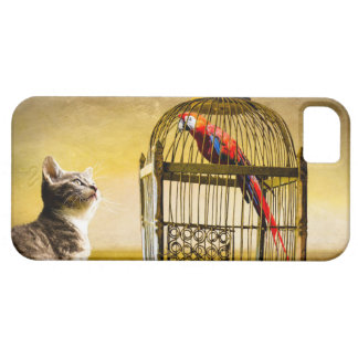 Kitty and Bird iPhone 5 Cases