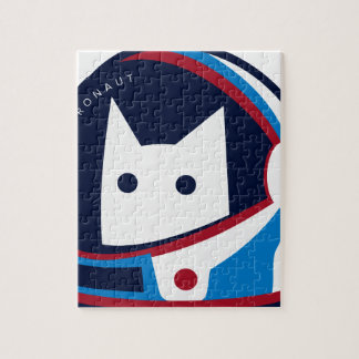 Kitty Astronaut Jigsaw Puzzle