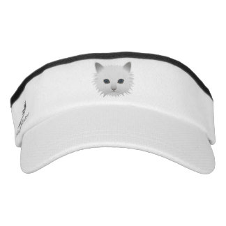 Kitty blue eyes visor